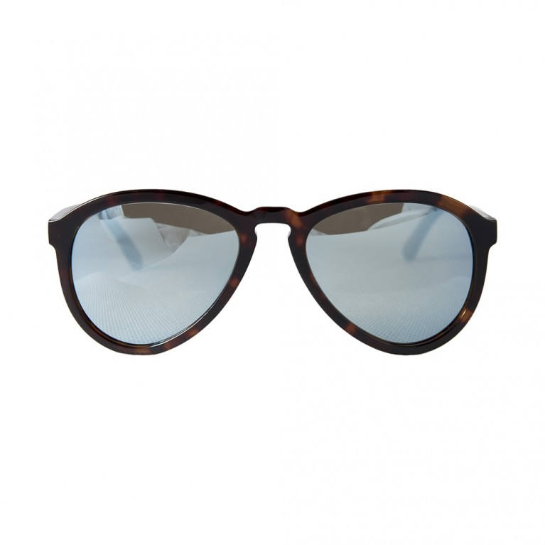 AVIATOR - BROWN TARTARUGA LIGHT BLUE MIRROR LENSES