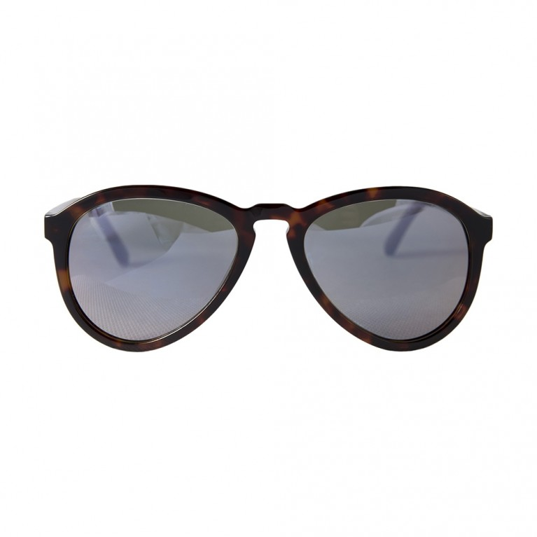 AVIATOR - BROWN TARTARUGA  VIOLET MIRROR LENSES