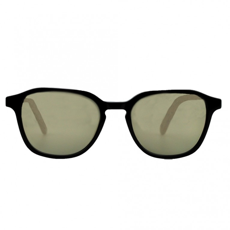 ANELLO - BLACK GLOSSY - GOLD MIRROR  LENSES