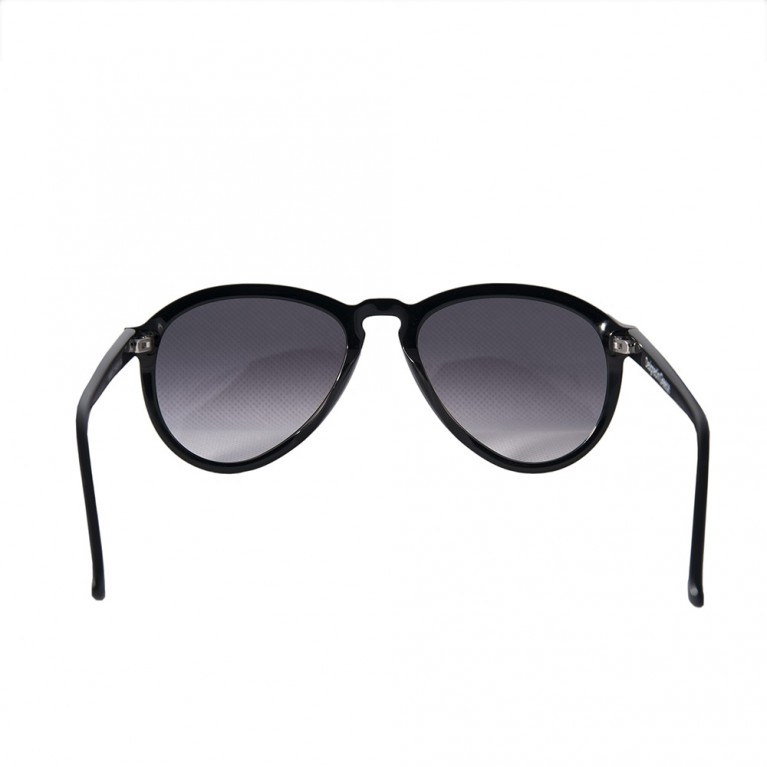 AVIATOR - BLACK GLOSSY GREY GRADIENT LENSES