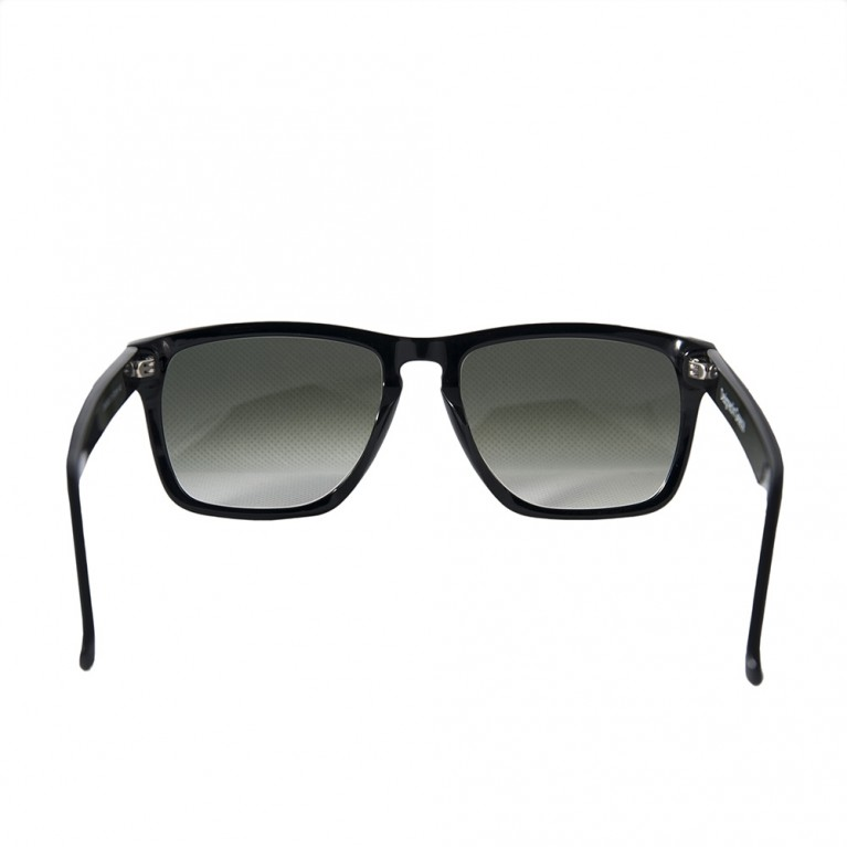 TETRAGONO-BLACK GLOSSY - GREEN GRADIENT LENSES