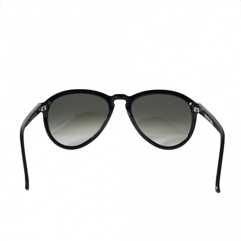 AVIATOR - BLACK GLOSSY- GREEN GRADIENT LENSES