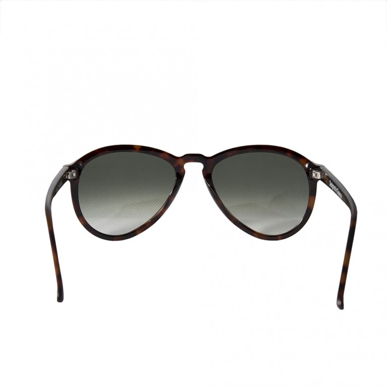 AVIATOR - BROWN TARTARUGA  GREEN GRADIENT LENSES
