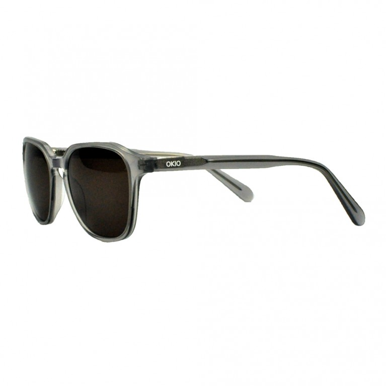 ANELLO - GREY TRANSPARENT - BROWN LENSES