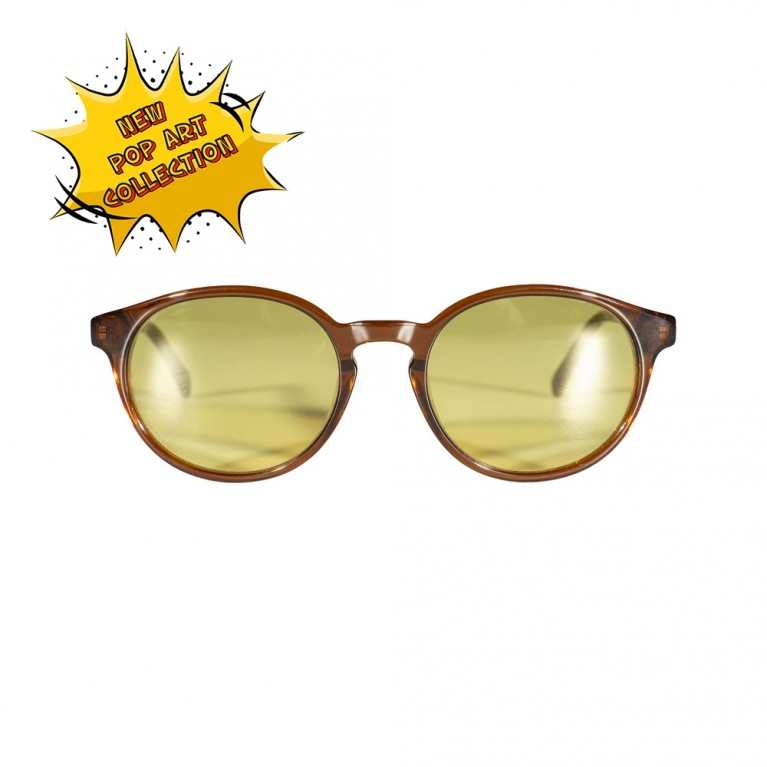 KYKLOS-BROWN-YELLOW LENSES