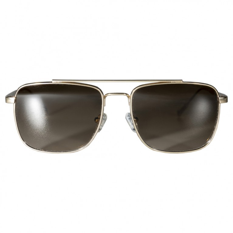 MOB - GOLD METAL - BROWN GRADIENT LENSES