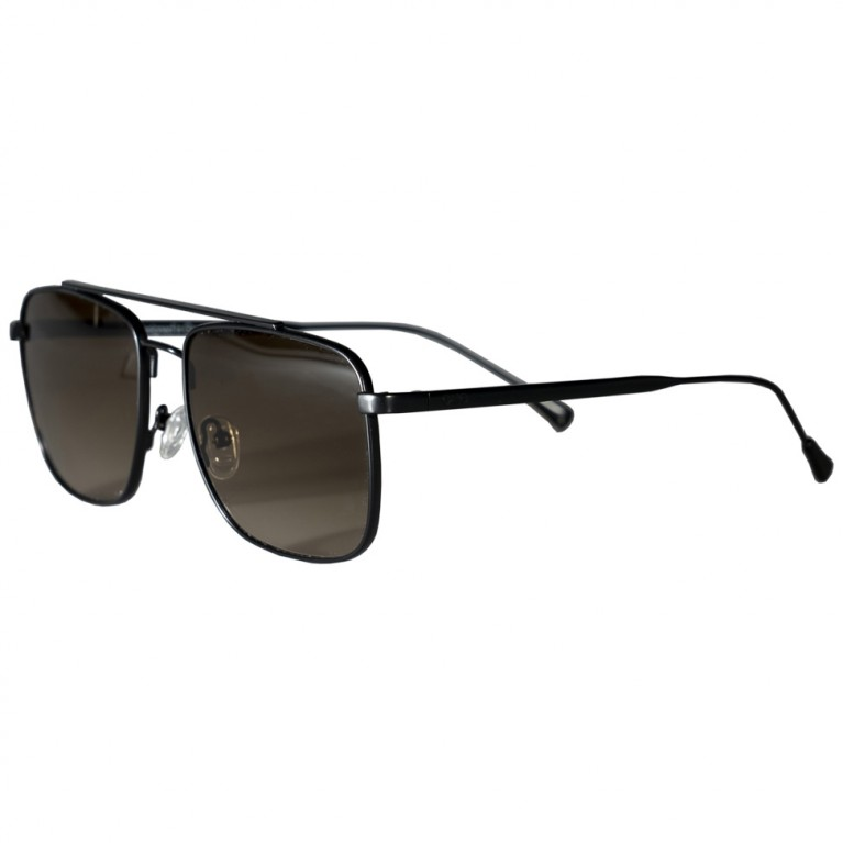 MOB - BLACK MATTE METAL - BROWN GRADIENT  LENSES